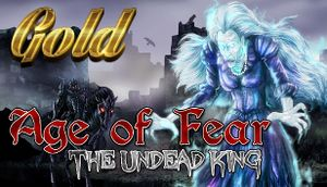 Age of Fear: The Undead King GOLD cover