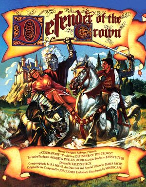 Defender of the Crown cover