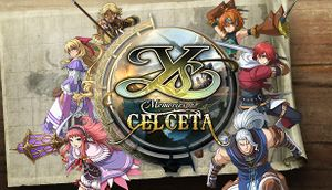 Ys: Memories of Celceta cover