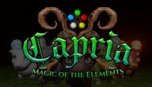 Capria: Magic of the Elements cover