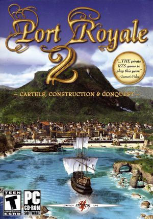 Port Royale 2 cover