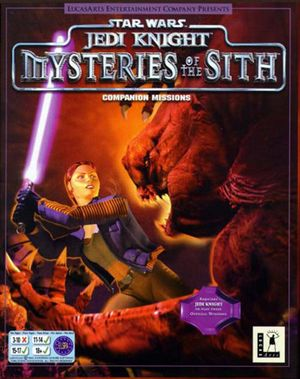 Star Wars: Jedi Knight - Mysteries of the Sith cover