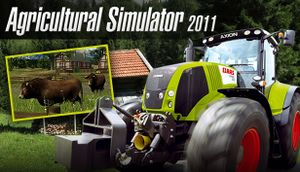 Agricultural Simulator 2011 cover