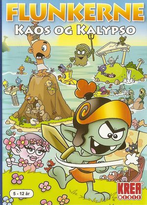 Flunkerne: Kaos og Kalypso cover