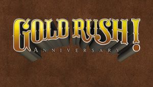 Gold Rush! Anniversary cover