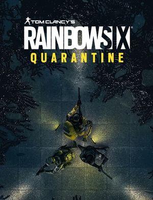 Tom Clancy's Rainbow Six Quarantine cover