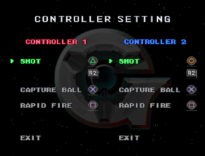 In-game controller remapping options.