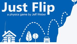 Just Flip - a physics game by Jeff Weber cover