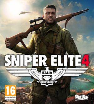 Sniper Elite 4 cover