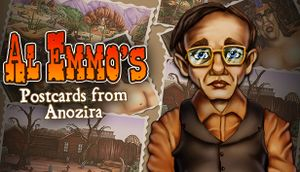 Al Emmo's Postcards from Anozira cover