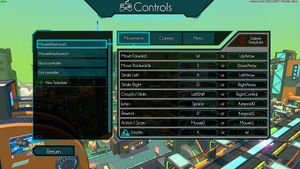 Movement settings on Hover.