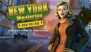 New York Mysteries: High Voltage cover