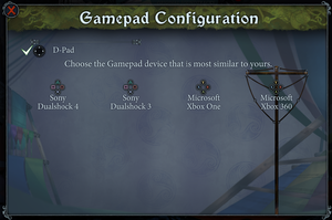 Controller prompt settings.