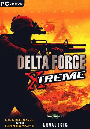 Delta Force: Xtreme cover