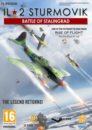 IL-2 Sturmovik: Battle of Stalingrad cover