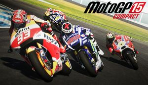 MotoGP 15 Compact cover