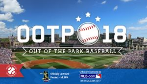 Out of the Park Baseball 18 cover