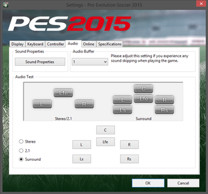 Pro Evolution Soccer 2015 - PCGamingWiki PCGW - bugs, fixes, crashes