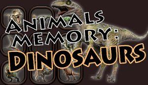 Animals Memory: Dinosaurs cover