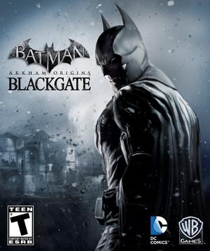 Batman: Arkham Origins Blackgate cover