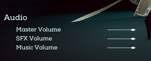 Audio Settings for Necropolis.