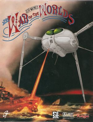 Jeff Wayne's The War of the Worlds cover