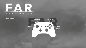In-game controller layout.