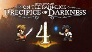 Penny Arcade's On the Rain-Slick Precipice of Darkness 4 cover