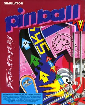 Pinball Fantasies cover