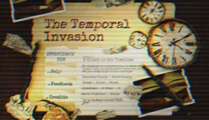 The Temporal Invasion cover