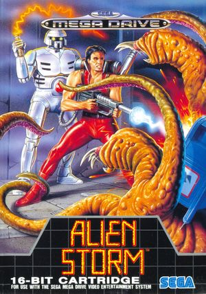 Alien Storm cover