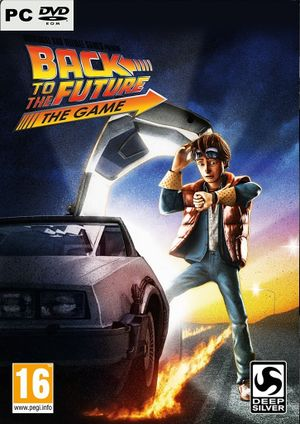 Back to the Future: The Game cover