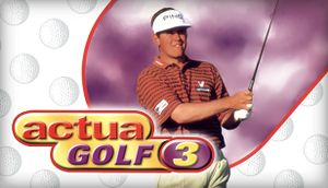 Actua Golf 3 cover