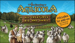 Agricola: All Creatures Big and Small cover