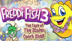Freddi Fish 3: The Case of the Stolen Conch Shell cover
