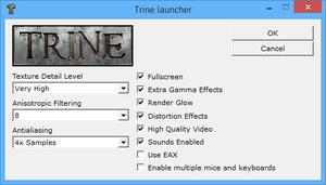 Advanced launcher options