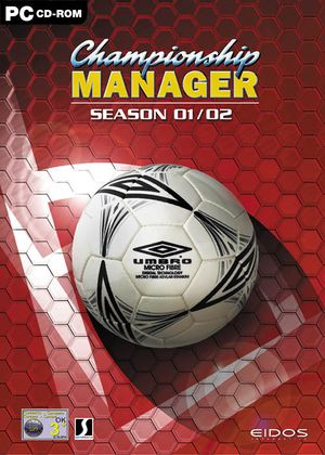 Championship Manager: Season 01/02 cover