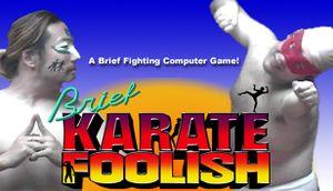 Brief Karate Foolish cover