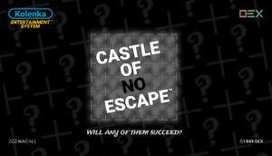 Castle of no Escape cover