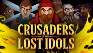 Crusaders of the Lost Idols cover