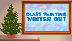 Glass Painting: Winter Art cover
