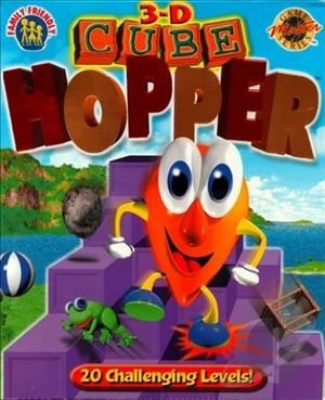 3D Cube Hopper cover
