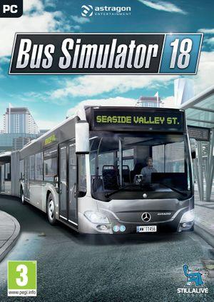 Bus Simulator 18 cover