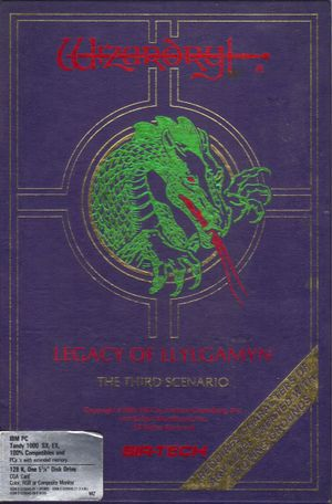 Wizardry: Legacy of Llylgamyn - The Third Scenario cover