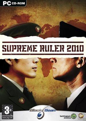 Supreme Ruler 2010 cover