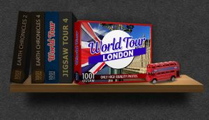 1001 Jigsaw. World Tour: London cover