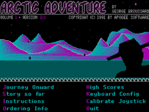 Arctic Adventure cover