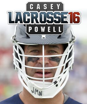 Casey Powell Lacrosse 16 cover