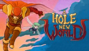 A Hole New World cover