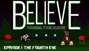 Believe: Paranormal Psychic Adventure cover